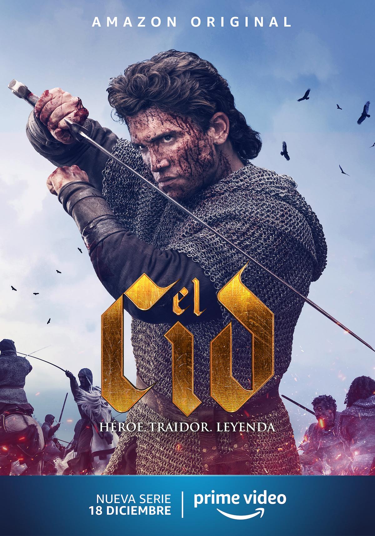 El Cid con Jaime Lorente arriverà a dicembre su Prime Video