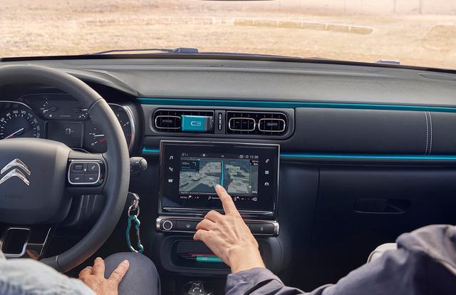 Citroën Connect Nav, informazioni di viaggio in 3D sul Display del TouchPad