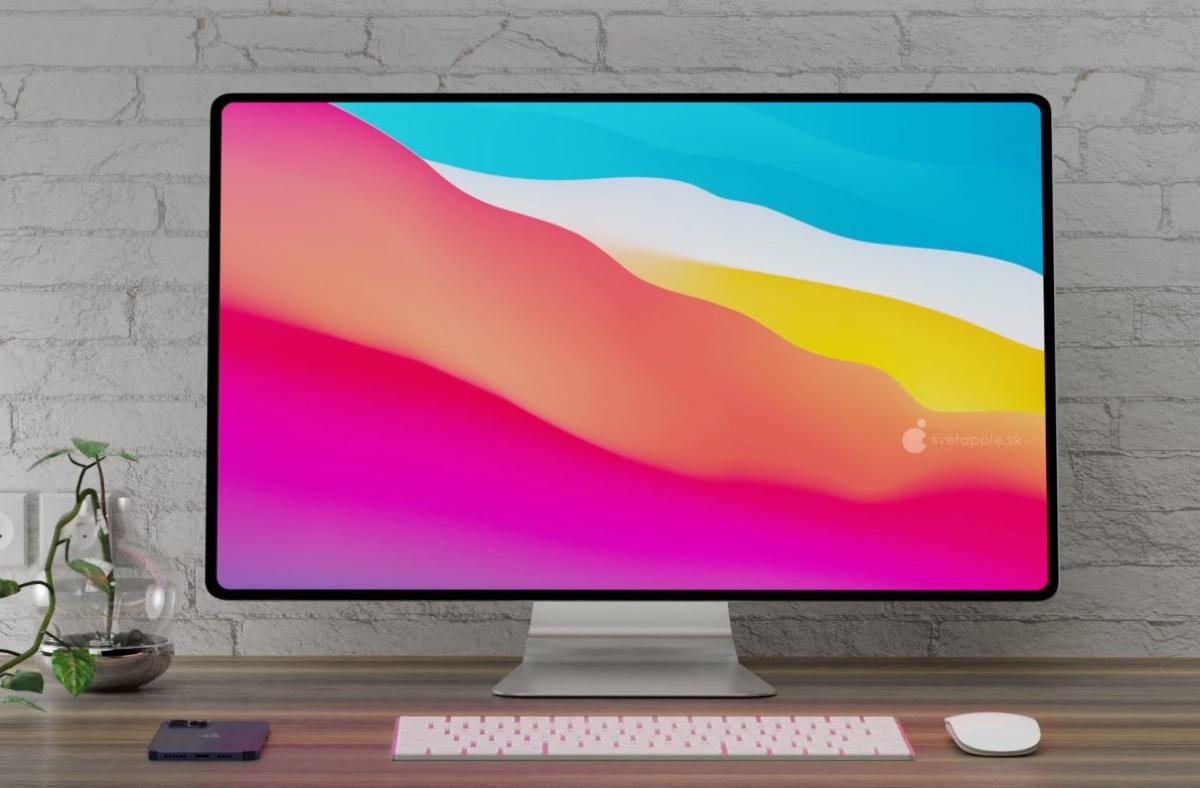 Il concept iMac con Apple Silicon è un computer da sogno