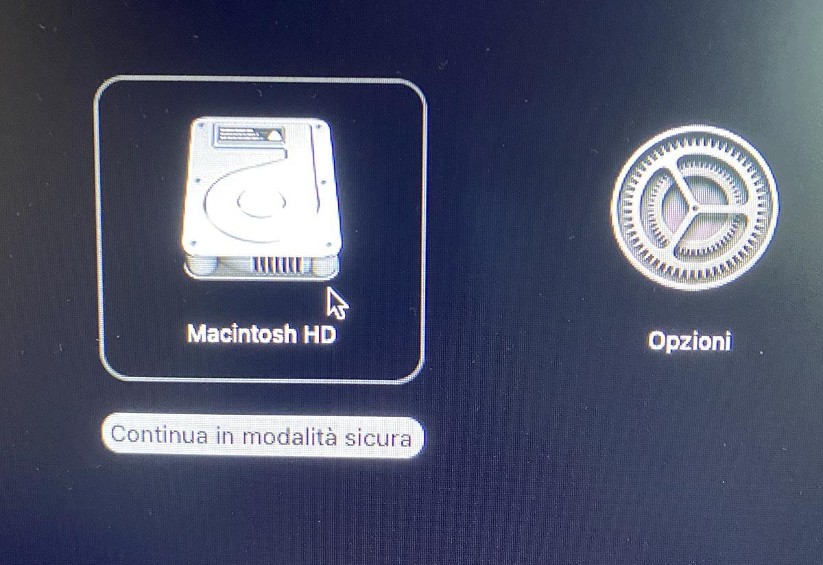 Le nuove modalità di avvio dei Mac con CPU M1