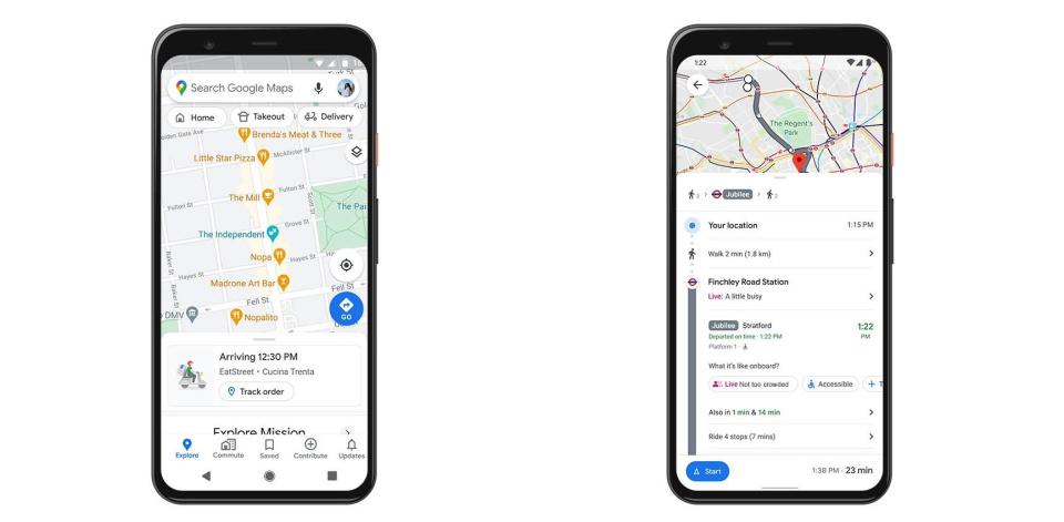 Google Mappe vi dice in tempo reale quanto sono affollati i mezzi pubblici
