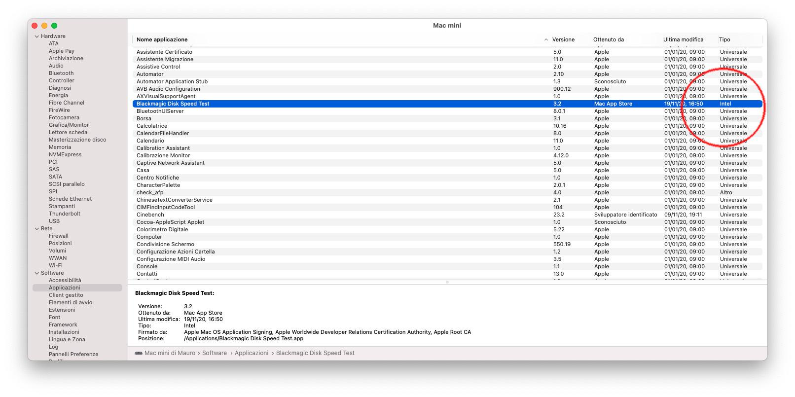 Mac con CPU Apple Silicon, come riconoscere le app ottimizzate