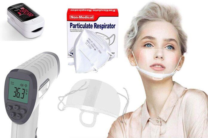 Black Friday della pandemia: su Amazon sconti su mascherine, termometri, guanti, saturimetri