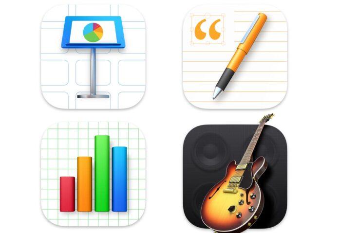 Apple ha aggiornato iWork e GarageBand per macOS Big Sur