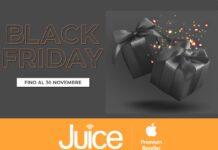Da Juice il Black Friday è su tutto e dura fino al 30 novembre
