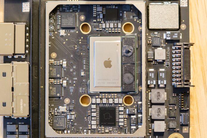 Mac Mini e MacBook Air con CPU M1 smontati