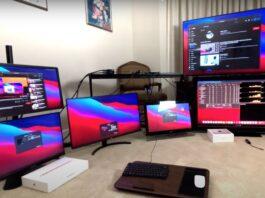 I Mac con chip M1 possono gestire fino a 6 monitor esterni