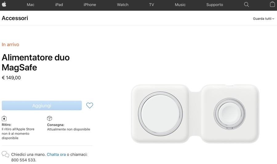 Custodia a tasca MagSafe in pelle per iPhone 12 e 12 Pro, in arrivo a 149 euro