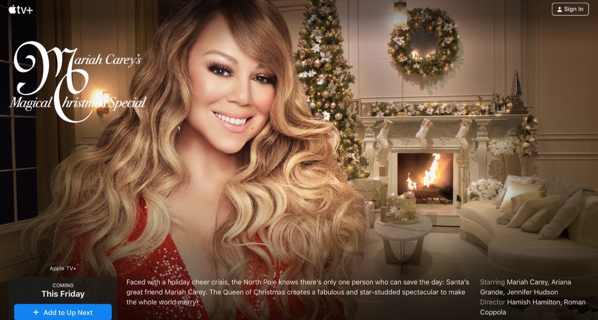 Mariah Carey's Magical Christmas Special on Apple TV+