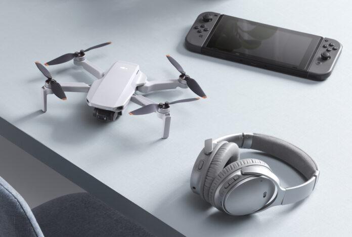 DJI Mini 2, il drone ultraleggero sotti i 250 g ora ha 4K e trasmissione Ocusync