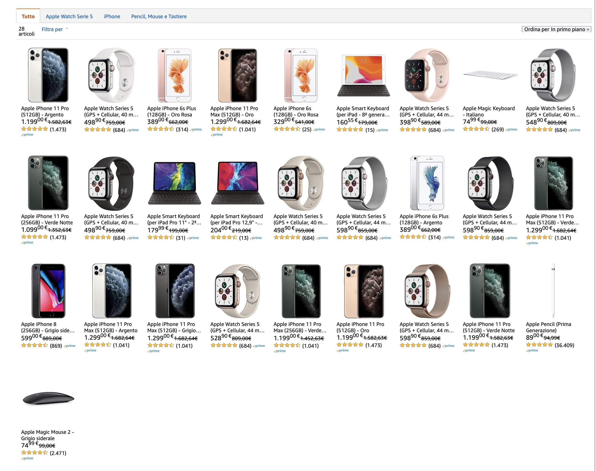 Black Friday: tutte le offerte Apple di Amazon in una sola pagina
