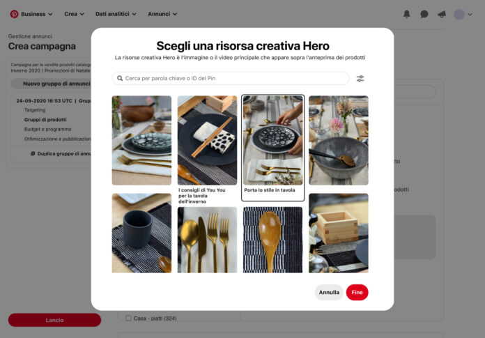 Pinterest potenzia gli strumenti di shopping online
