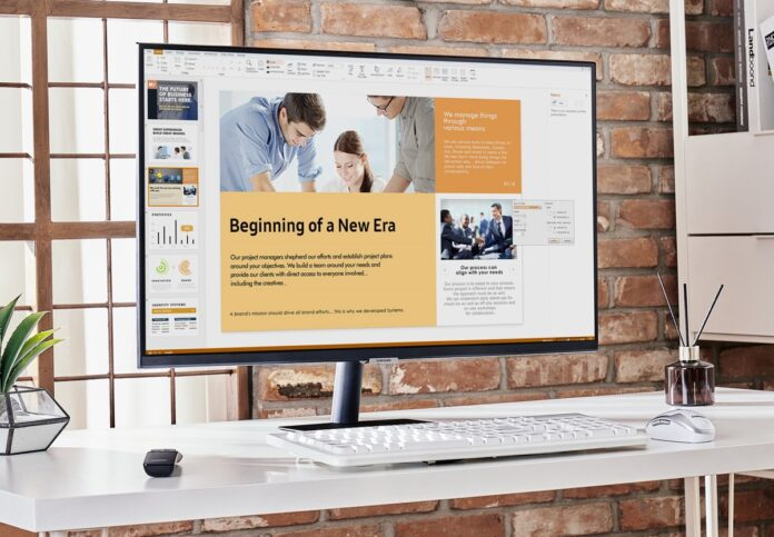 Samsung Smart Monitor offre app, AirPlay 2 e DeX wireless