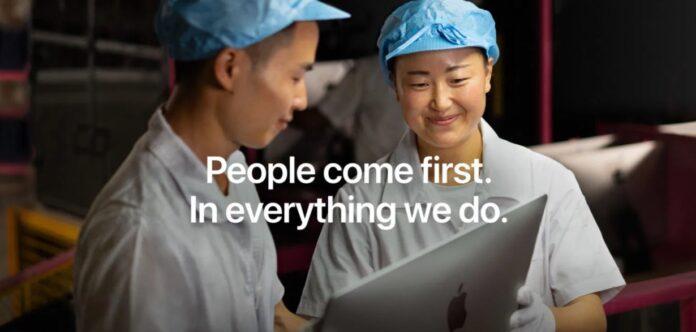 Apple accusata di aver tentato di indebolire la legge contro il lavoro forzato