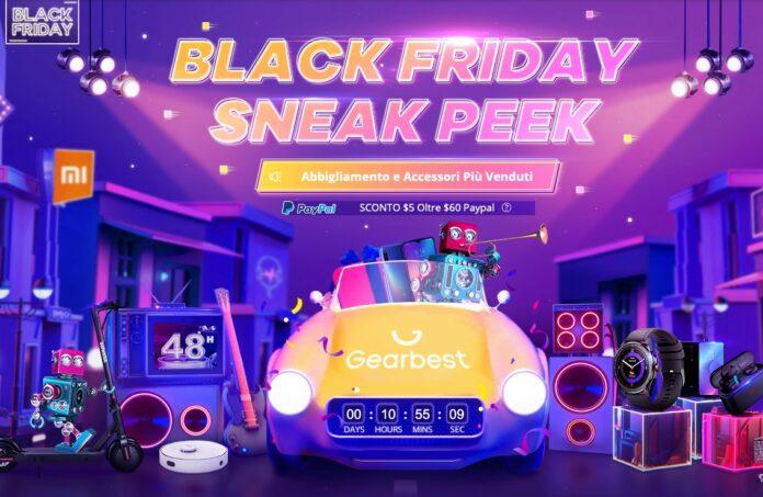 Il Black Friday di GearBest vi da fino a 25,50 euro di coupon e sconti su una valanga di prodotti