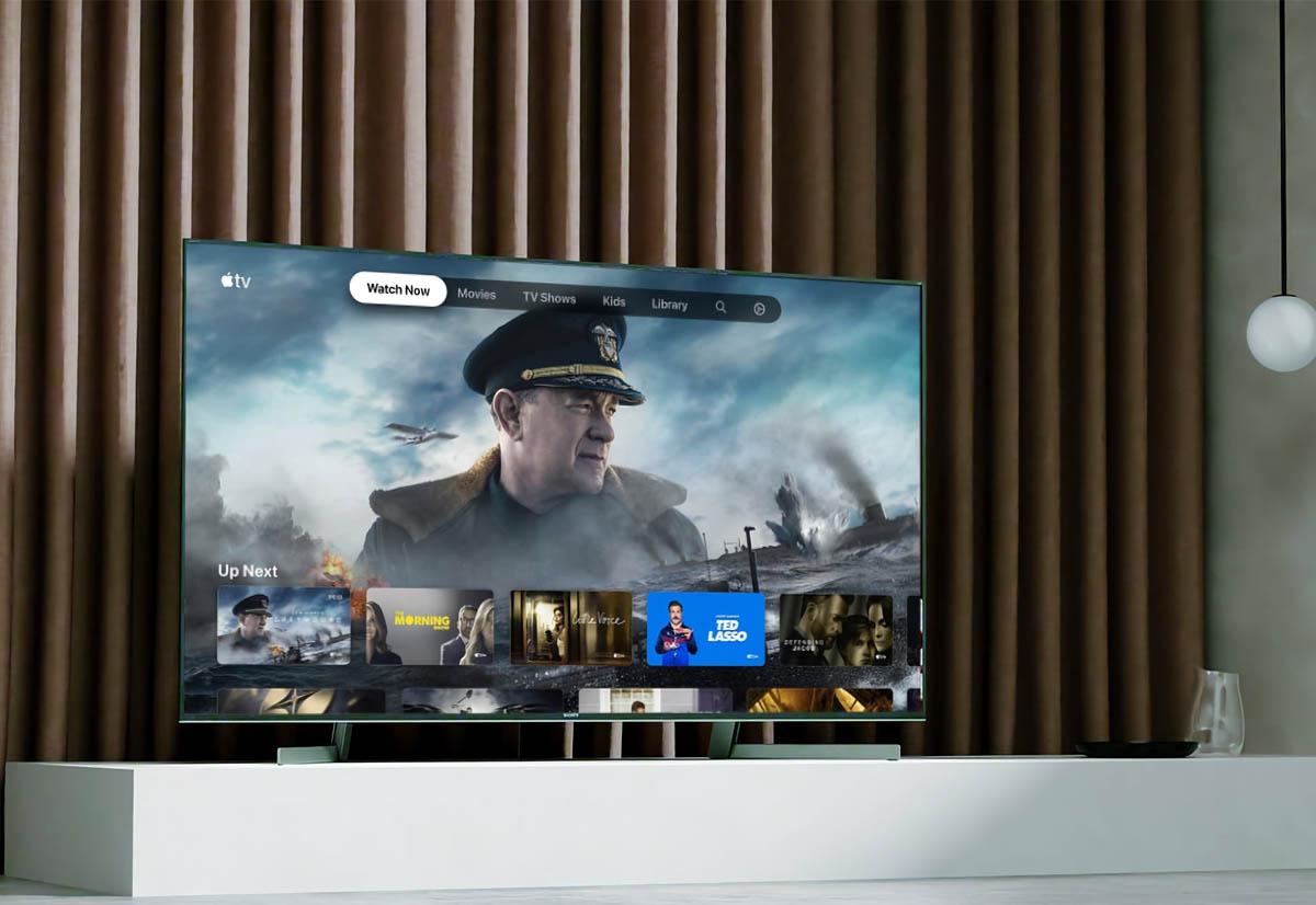 L'app Apple TV ora su 44 modelli di TV di Sony