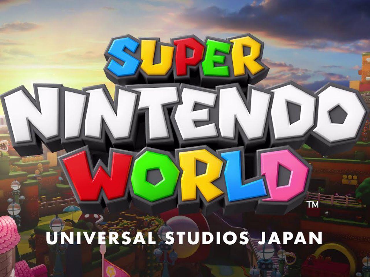 Super Nintendo World apre il 4 febbraio