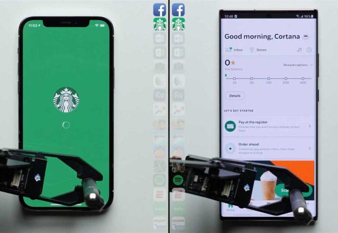 L'iPhone 12 Pro batte il Samsung Note 20 Ultra in un test sulla velocità di caricamento delle app