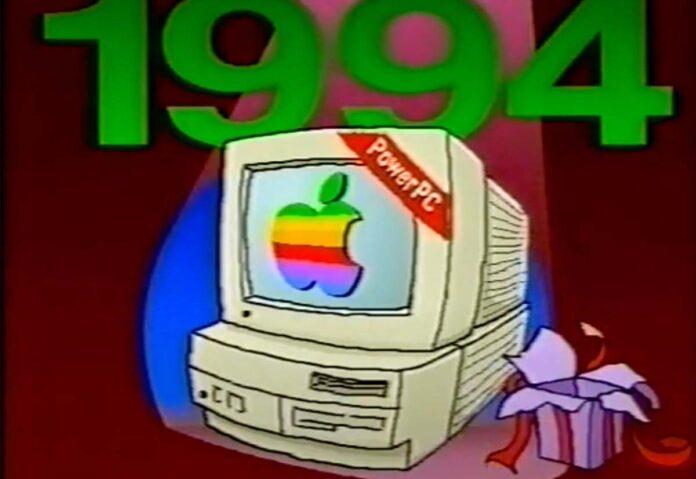 La transizione a PowerPC in un video di Apple del 1994