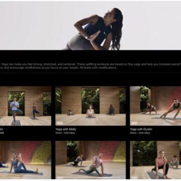 app fitness+ ipad