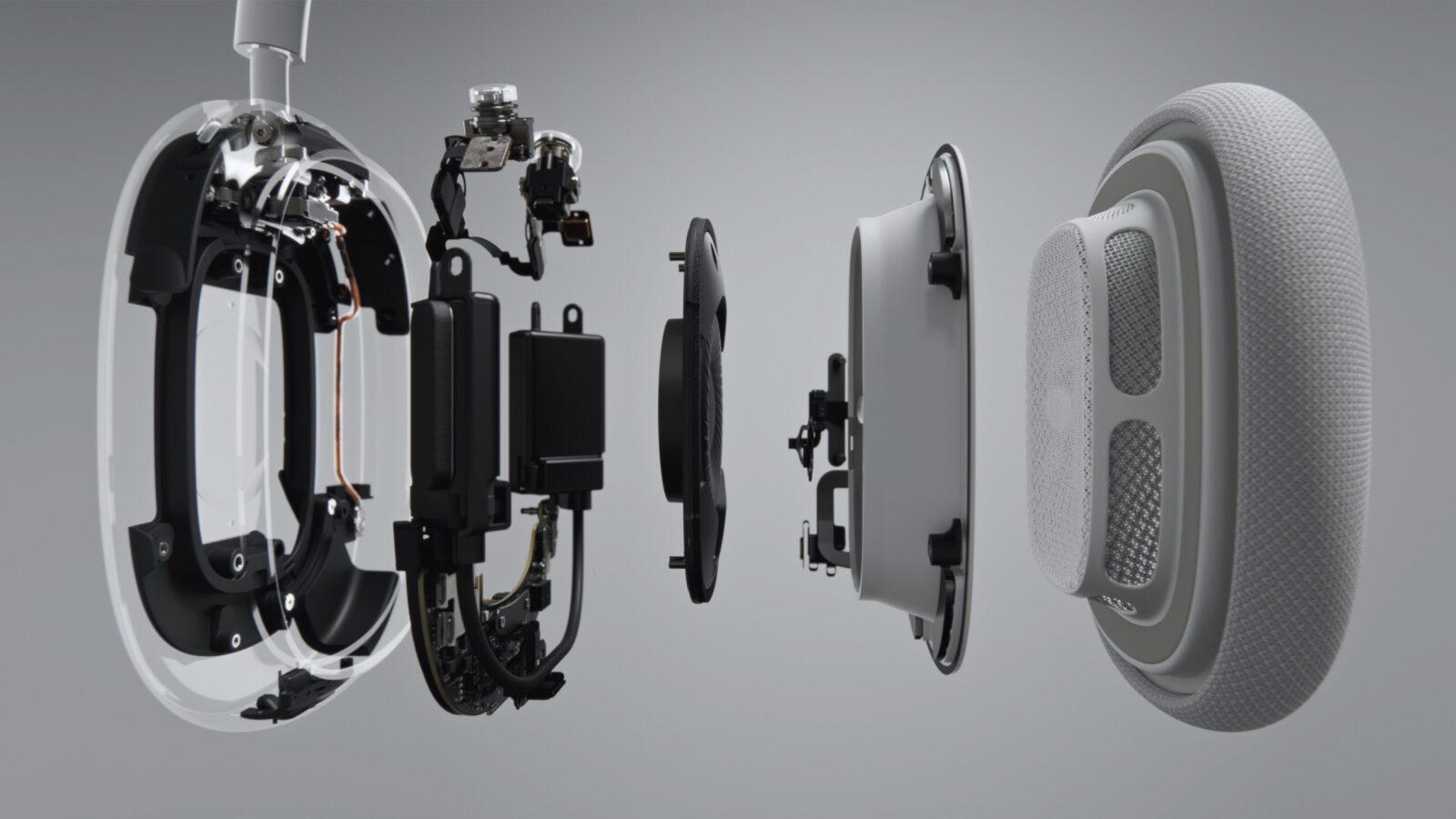 Cambiare la la batteria nel padiglione delle AirPods Max non è complesso