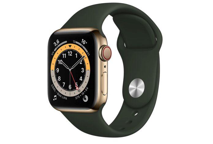 Apple Watch 6 Cellular in acciaio: minimo storico 633 €