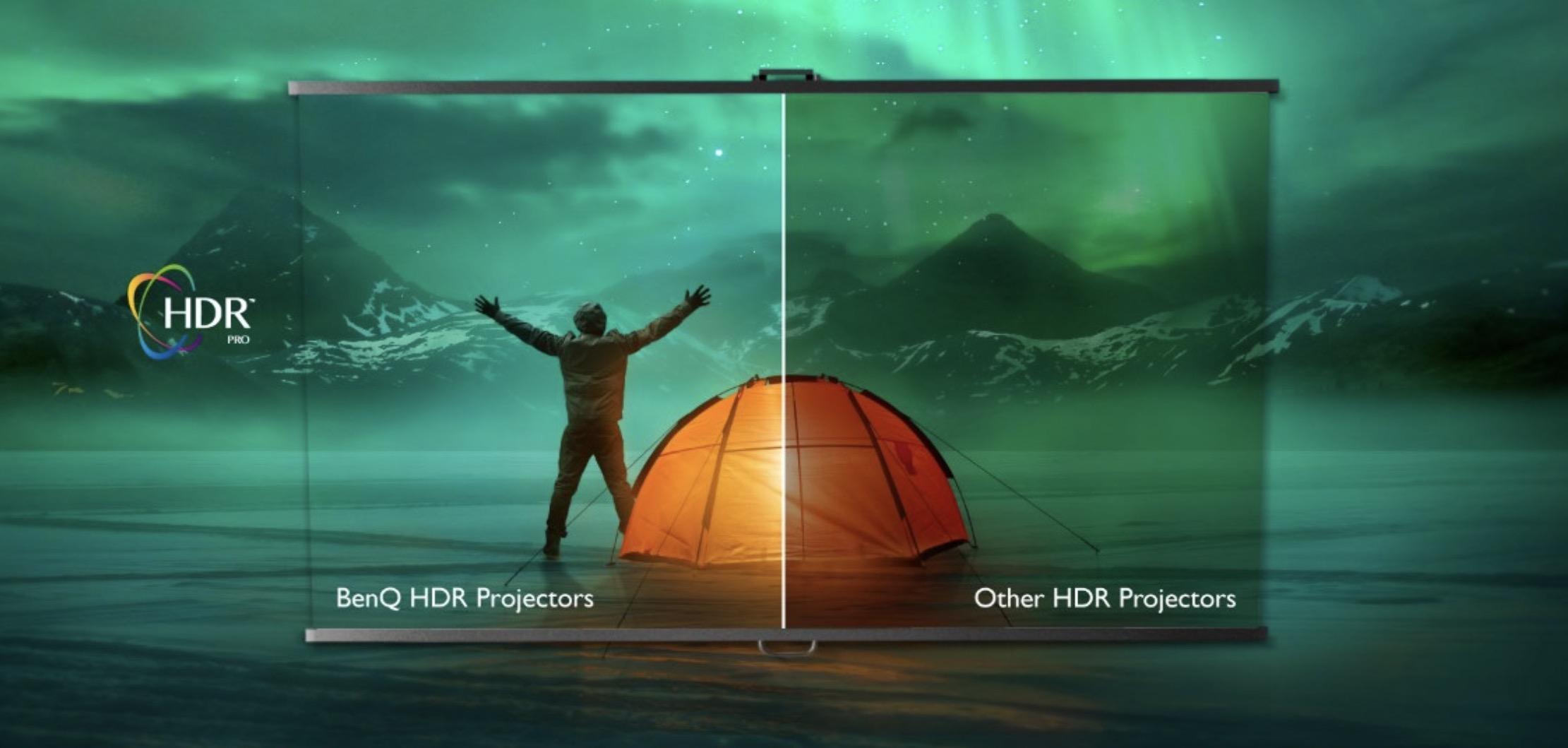 Il proiettore BenQ W2700i ha Android TV certificata Google e 4K XPR con HDR
