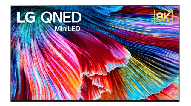 LG aggiungerà i televisori QNED 8K alla sua gamma nel 2021
