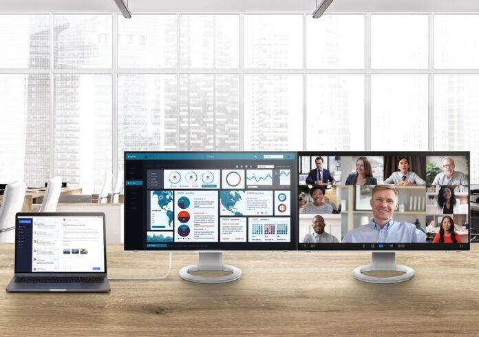 Eizo FlexScan, i monitor che fanno bene agli occhi e alla schiena