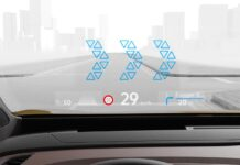 L'head-up display a realtà aumentata delle Volkswagen ID