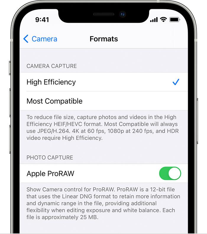 Instagram con il supporto del formato ProRAW di Apple