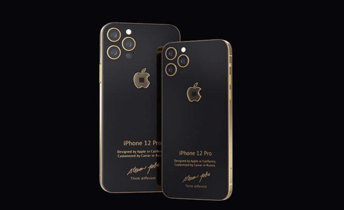 Ecco l'iPhone 12 Pro da 10.000 dollari, personalizzato con un frammento del dolcevita originale di Steve Jobs