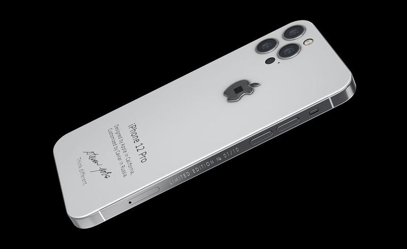 Ecco l'iPhone 12 Pro da 6000 dollari personalizzato con un frammento del dolcevita originale di Steve Jobs