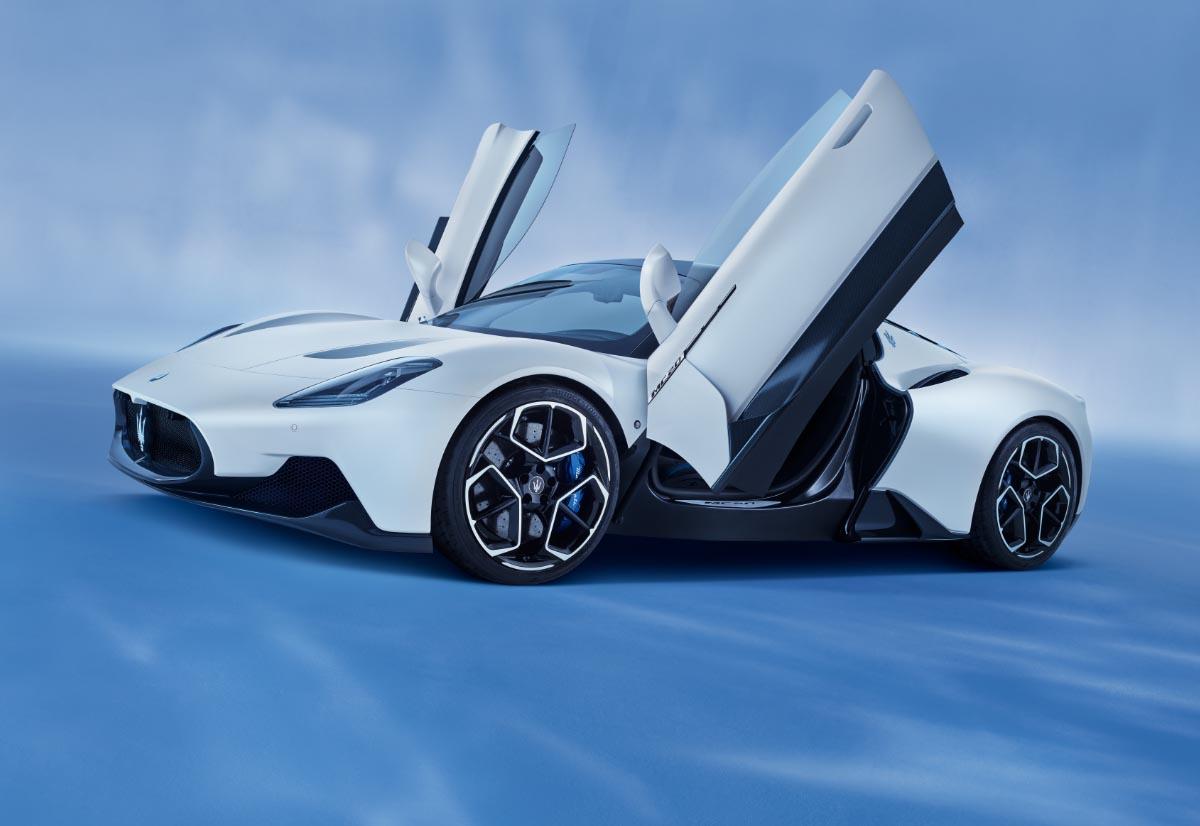 Maserati, tutte le nuove auto saranno ibride o elettriche entro cinque anni