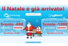A Natale regala o regalati il meglio dell'Hi-Tech Ricondizionato con gli Sconti fino a -100€ e Spedizione Gratis su TrenDevice e BuyDifferent