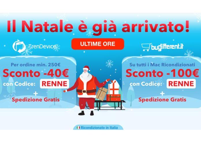 Ultime ore: il meglio dell'Hi-Tech Ricondizionato con Sconti fino a -100€ e Spedizione Gratis su TrenDevice e BuyDifferent.