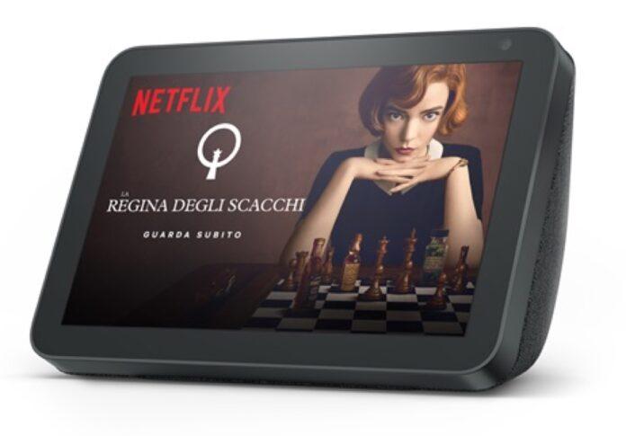 Netflix ora si vede su Amazon Echo Show