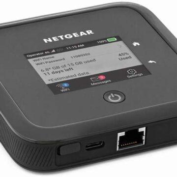 Netgear presenta Nighthawk M5, il primo mobile router che integra 5G e Wi-Fi 6