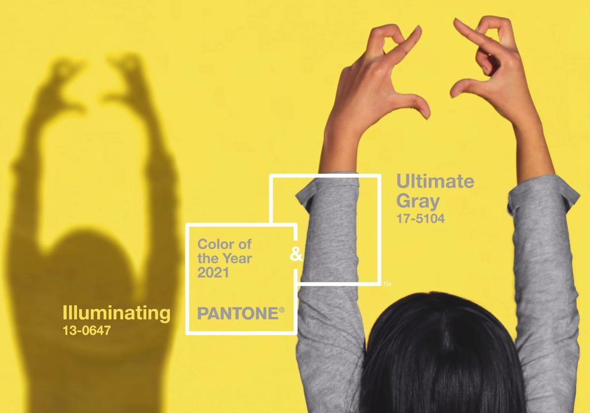 Il colore Pantone del 2021 è Ultimate Gray + Illuminating