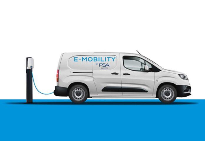 Groupe PSA lancerà versioni 100% elettriche dei suoi compact van nel 2021