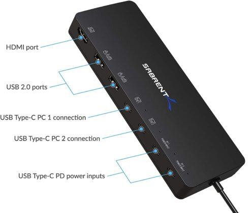 Recensione Sabrent Switch KVM USB Tipo C, controllo hardware di due computer con prestazioni da sogno