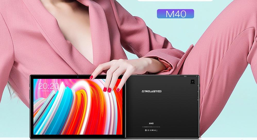 Teclast M40, il tablet Android da 10 pollici con 6GB di RAM e 128 di ROM in offerta lampo a 151 euro