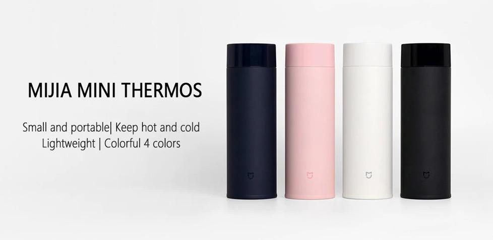 Il thermos Xiaomi Mijia Mini da 350 ML a poco più di 10 euro in offerta lampo