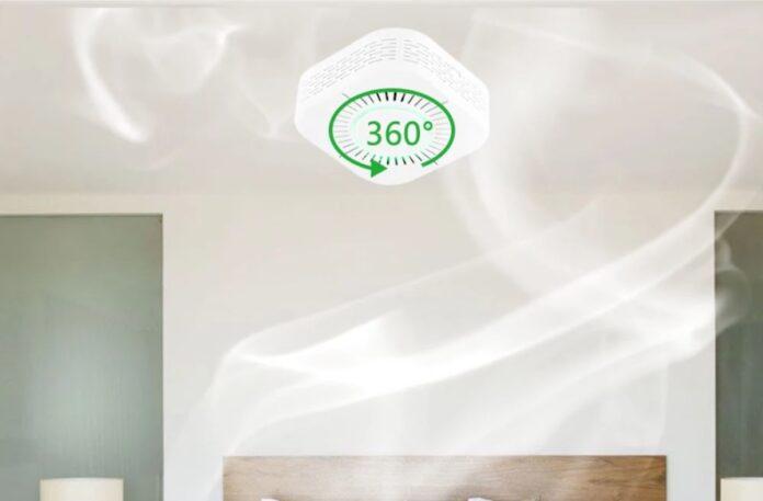 Il rilevatore di fumo eWeLink a 10,28 euro con codice sconto