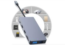 RUNFENGTE è l'adattatore per Macbook USB-C 12 in 1 con PD, display 4K e tanto altro: solo 34 euro