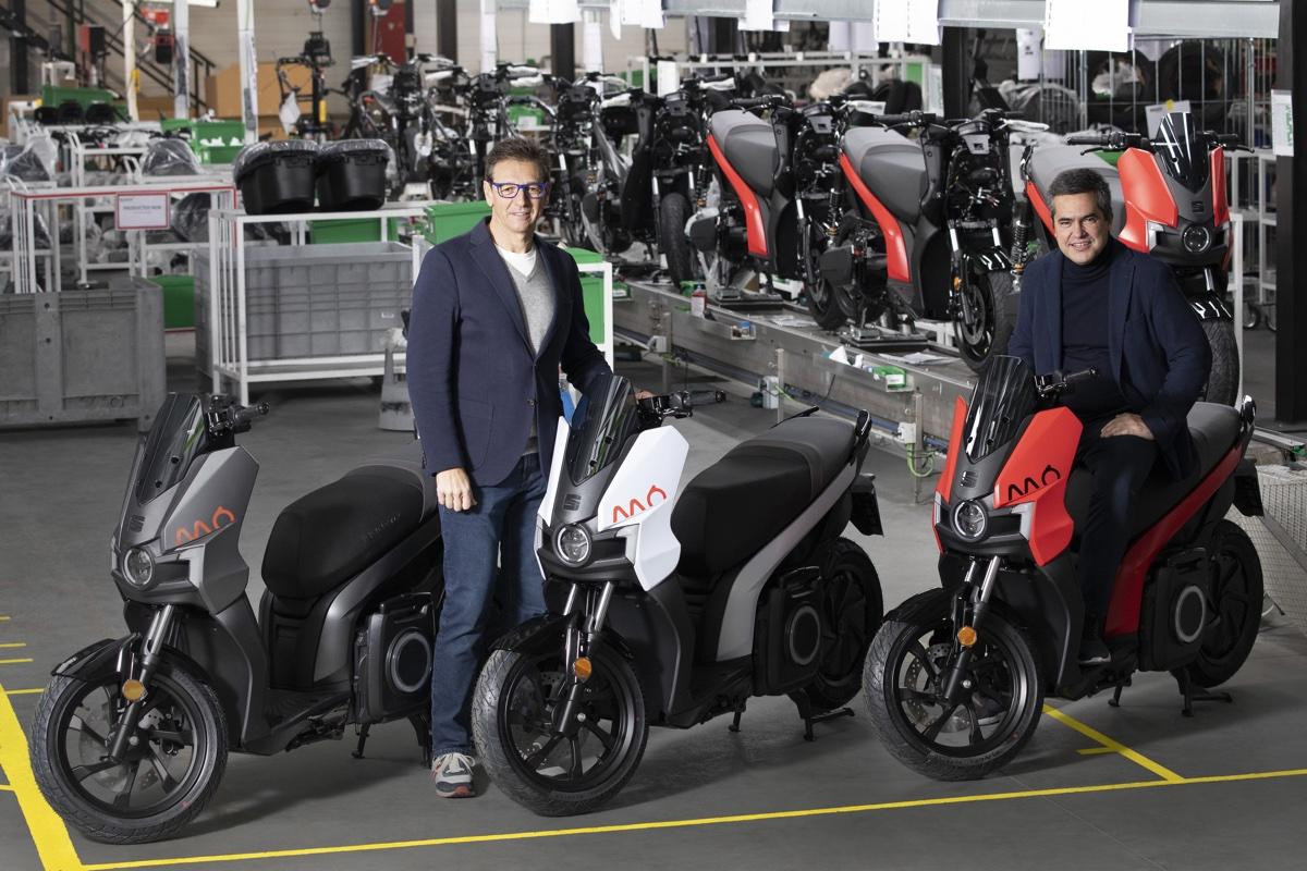 MÓ eScooter 125: inizia la produzione del primo scooter elettrico di SEAT