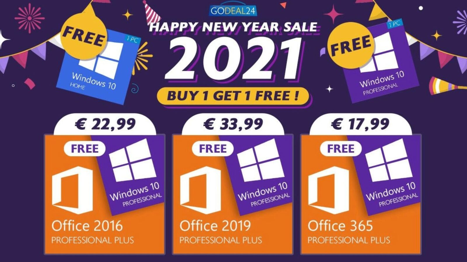 Windows 10 è GRATIS con Microsoft Office: ecco gli ultimi sconti del 2020 di GoDeal24