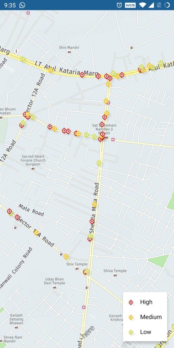 Una startup indiana ha ideato un'app per mappare le buche sulle strade
