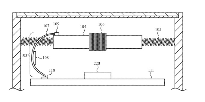 """Apple Watch, in un brevetto la batteria come """"motore"""" per il feedback aptico"""
