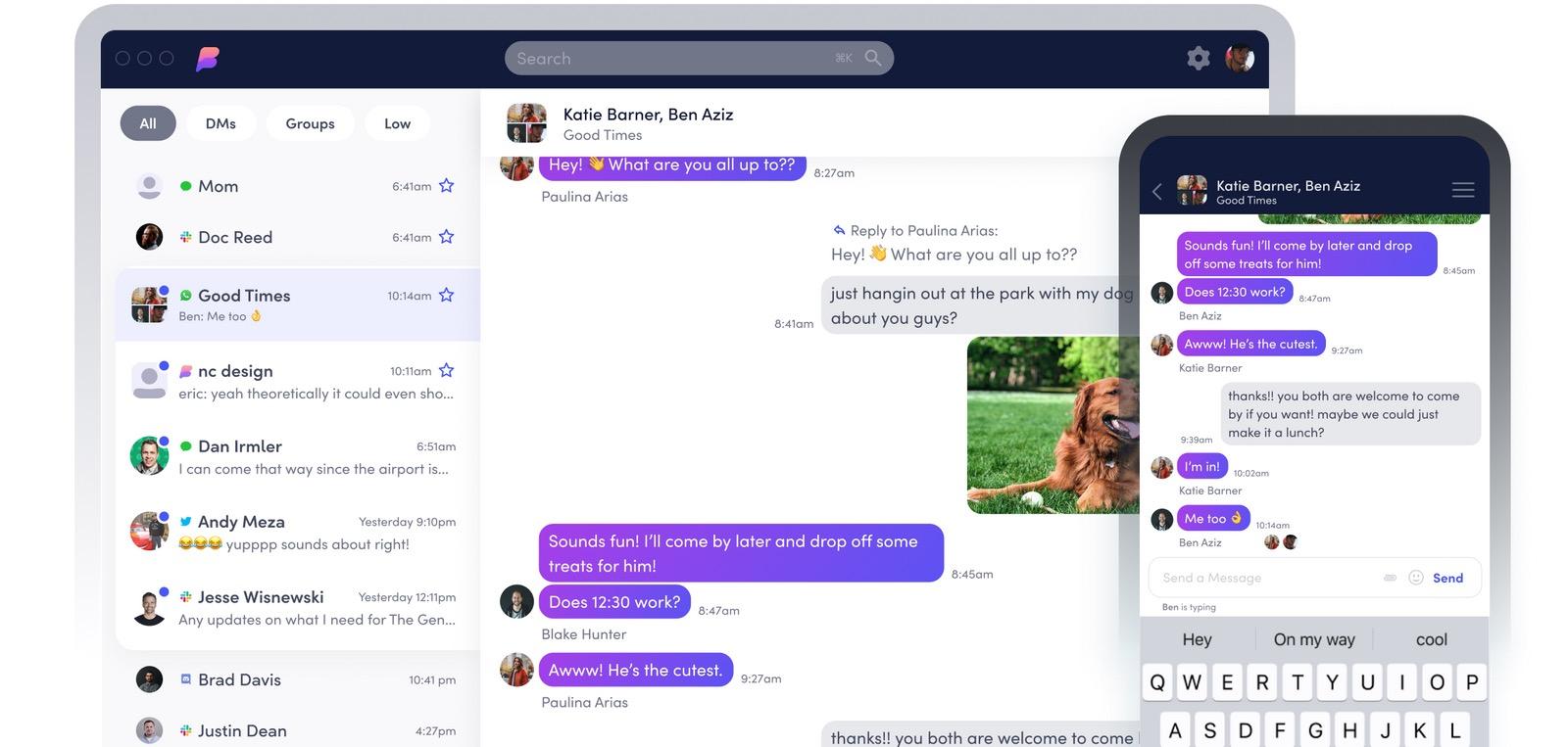 Beeper porta iMessage di Apple su Android